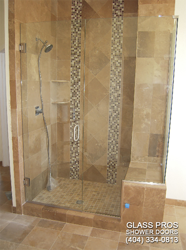 frameless glass shower enclosure roswell ga. Glass Shower Doors Roswell GA   Frameless Enclosure